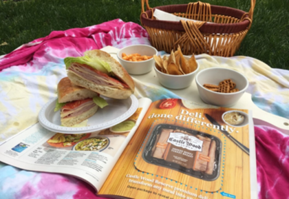 Picnic with Castle Wood Reserve